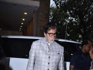 Amitabh Bachchan and Jaya Bachchan At The Launch Of Siddharth Shanghvi's Book 'The Rabbit and The Squirrel'
