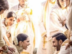 Deepika Padukone And Ranveer Singh Wedding Photos