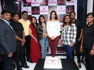 Diksha Panth Inaugurates Glam Studios Unisex Salon