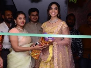 RituVarma Launches Priya Design Studio At Jubilee Hills