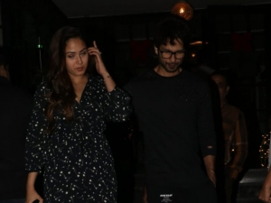 Shahid Kapoor and Mira Rajput Spotted at Soho House Restaurant