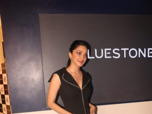 Store Launch of 'Bluestone' In Mumbai By Kiara Advani
