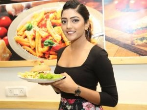 Eesha Rebba Grand Launched Cafe Chef Bakers