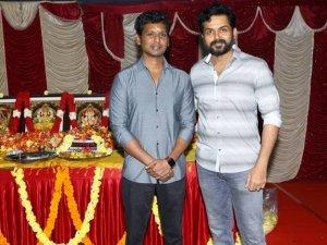 Karthi 18 New Movie Launch