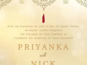 Priyanka Chopra and Nick Jonas Wedding Reception In Mumbai