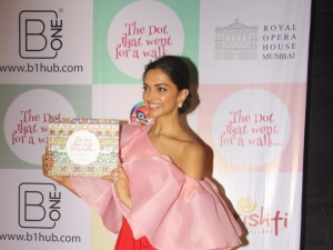 Deepika Padukone At A Book Launch