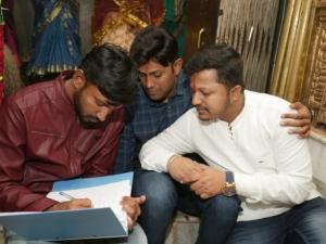 Madagaja Movie Script Pooja