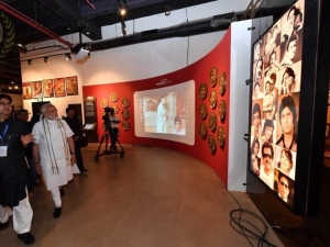 Narendra Modi Inaugurates National Museum On Indian Cinema