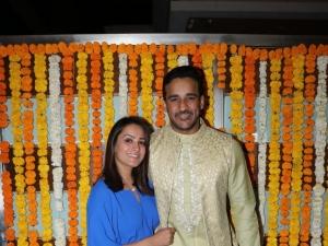 Celebs At Ekta Kapoor's Son Ravie Kapoor's Naming Ceremony