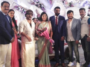 Crazy Star Ravichandran Daughter Geethanjali Engagement Photos