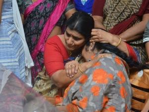 Funeral of Kodi Ramakrishna