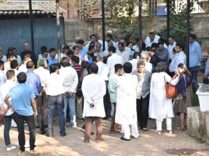 Funeral of Ramesh Barjatiya