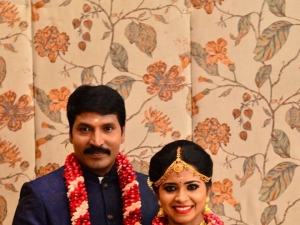 Jangiri Madhumitha And Moses Joel Marriage Photos
