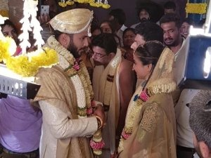 Agnisakshi Serail Fame Vijay Surya Gets Married On Valentine Day