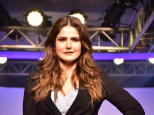 Zarine khan At Lingerie Plus Size Fashion Show