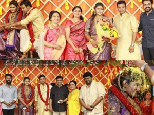 Abinaya Parthiban And Naresh Karthik Wedding Reception Photos