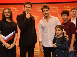 Mahesh Babu Madame Tussads Wax Statue Launch At AMB Theatre