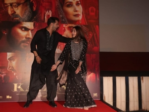Varun Dhawan And Alia Bhatt At First Class Song Launch Of Kalank