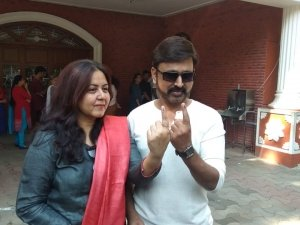 Kannada Celebrities Cast Their Votes For Lok Sabha Election 2019