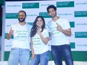 Saif Ali Khan, Bhumi Pednekar and Siddhant Chaturvedi For #unitedbyvote Panel Discussion
