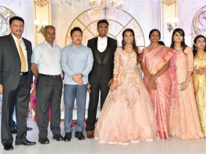 Dr.S.M Balaji Daughter Marriage Reception
