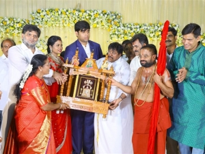 Salem RR Biriyani MD Tamil Selvan's Daughter Reception