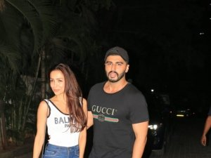 Arjun Kapoor And Malaika Arora Spotted Together At Special Screening Of India's Most Wanted