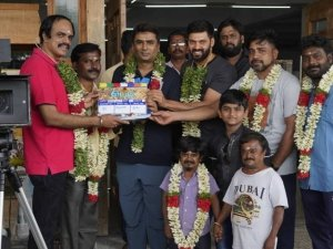 Teddy Movie Pooja