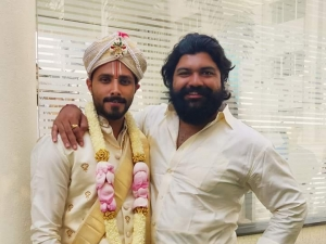 Bigg Boss Fame Jagan And Rakshita Marriage Photos