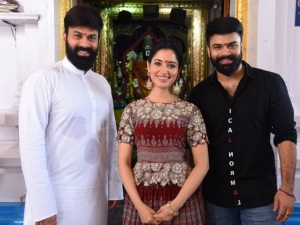 Raju Gari Gadhi 3 Movie Pooja