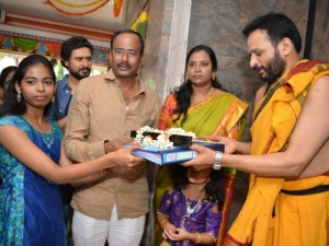 Ramesh Arvind's 100 Movie Pooja and Press Meet