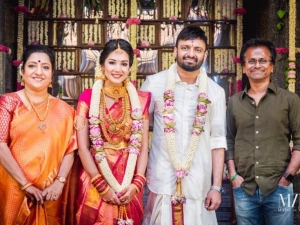 Director Anand shankar And Divyanka Wedding