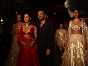 Kiara Advani Walked Ramp At India Couture Week 2019