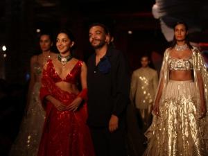 Kiara Advani Walked Ramp At India Couture Week 2019