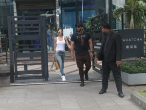 Malaika Arora and Arjun Kapoor spotted at Nara Thai, BKC