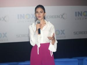 Rakul Preet Singh at Inox Screenx Launch ,in Mumbai