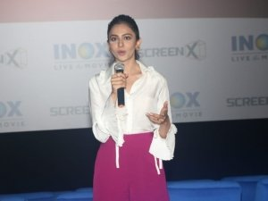 Rakul Preet Singh at Inox Screenx Launch ,in Mumbai