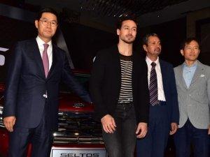 Tiger Shroff at KIA Car Launch