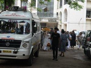 Vidya Sinha Funeral