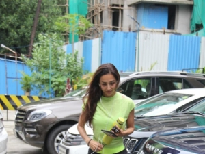 Malaika Arora Spotted At I Think Fitness
