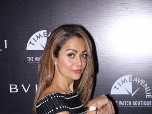 Amrita Arora at Bvlgari Roma and Time Avenue Watch Launch