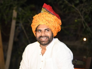 Pawan Kalyan participated Guru das Agrawal first anniversary in Haridwar