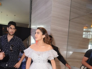 Sara Ali Khan and Rakul Preet Singh At IIFA 2019 Press Conference In New Delhi
