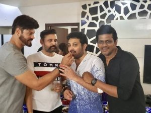 Bigg Boss Telugu Season1 Winner Siva Balaji Birthday Celebration Photos