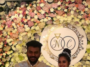 Chandan Shetty and Niveditha Gowda Engagement Photos