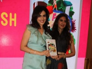 Genelia D'Souza at the launch of the book Wave N For Nourish