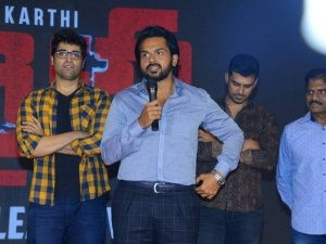 Karthi Khaidi Movie Pre Release Event