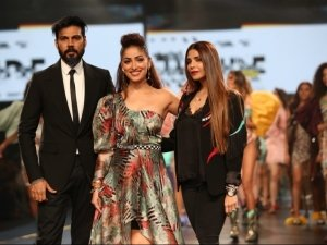 Yami Gautam Walks The Ramp At Lotus Fashion Week 2019