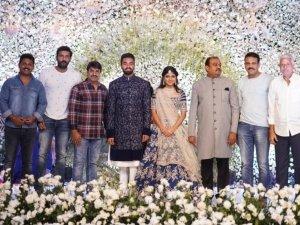Producer Lakshman's son Ujwal Engagement Stills