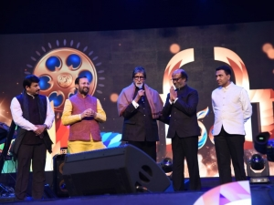 Rajinikanth, Amitabh Bachchan and Others at The Golden Jubilee Edition Of IFFI